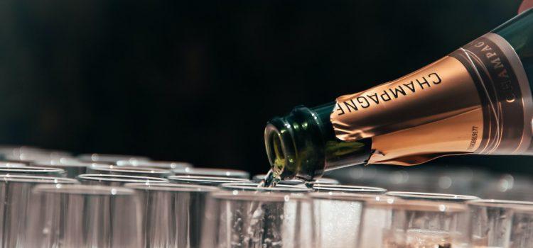 cuvée de champagne fruité